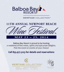 Balboa Bay Resort, Newport Wine Festival