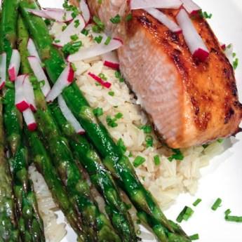 Fast, Fresh + Easy:  Smoky Date Teriyaki Wild Salmon