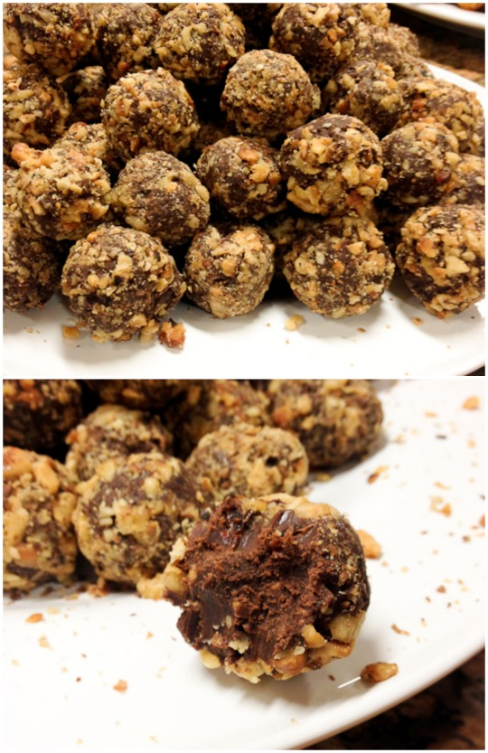 Chile-Chocolate Mole Truffles