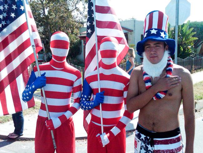 Huntington Beach, 4th of July Parade