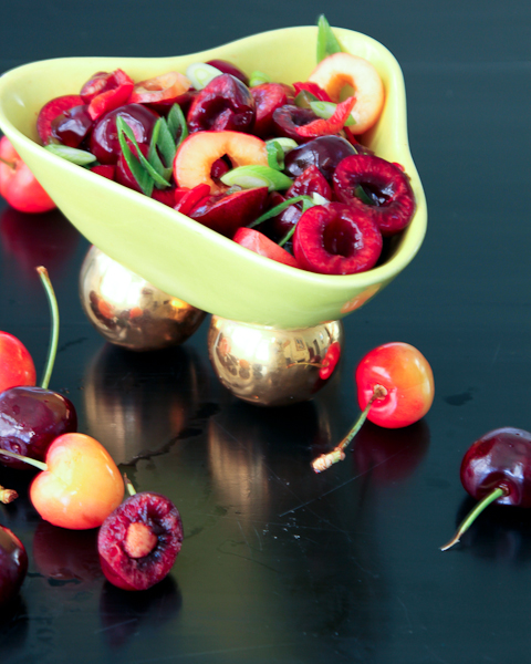 Oh Sweet Cherry Salsa