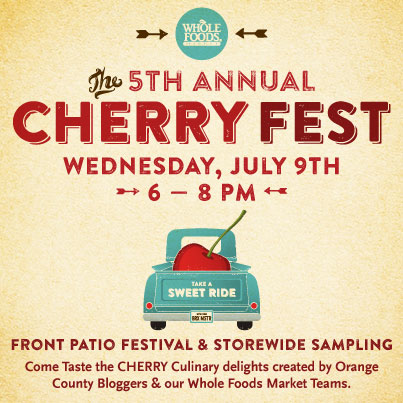 Whole Foods Cherry Fest