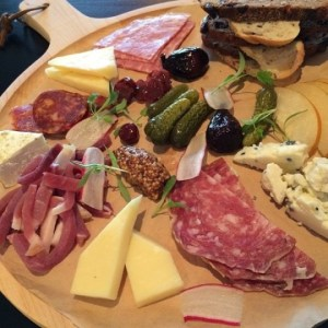 Gourmet Cheese and Charcuterie Platter