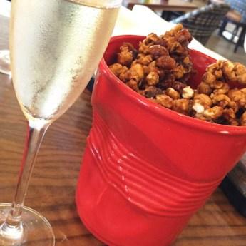 Popcorn + Pig - caramel popcorn, bacon and peanuts