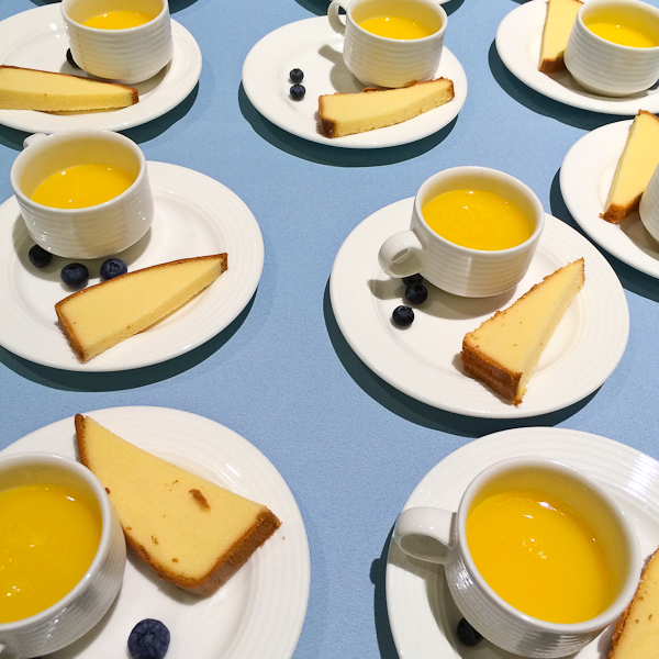 Lemon Curd with Olive Oil