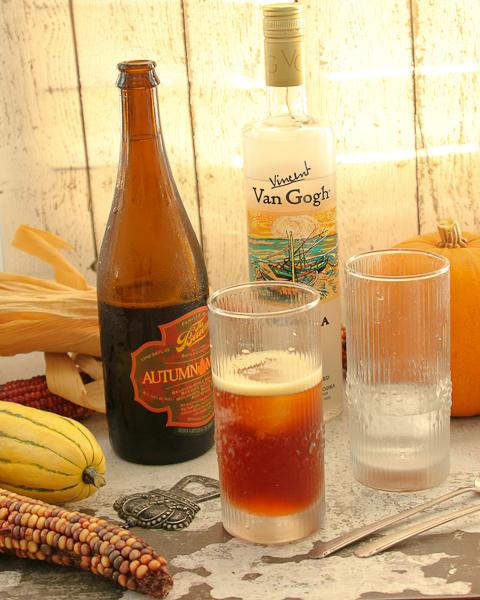Vanilla Maple Beer Float, Oktoberfest