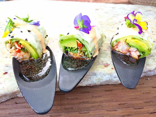 Lobster Roll, yuzu wasabi vinaigrete
