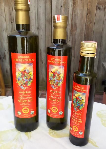 Arianna Trading Company extra virgin olive oil