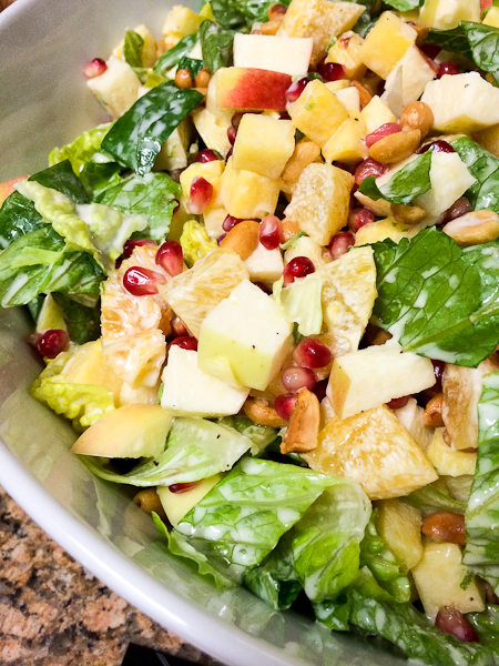 Fast, Fresh + Easy: Mexican Christmas Eve Salad