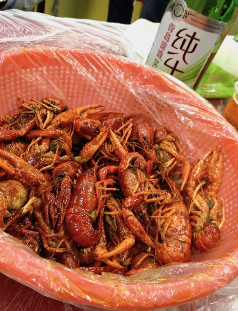 crawfish, food tour Shanghai, Shanghai night markets