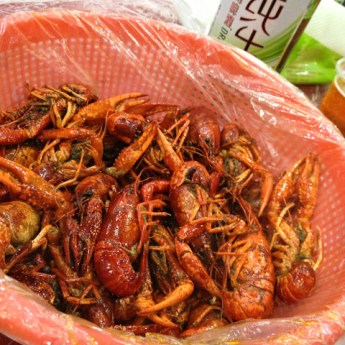 Crawfish, Shanghai Night Markets
