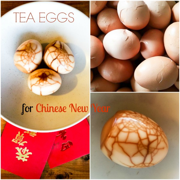Tea Eggs Chinese New Year foods
