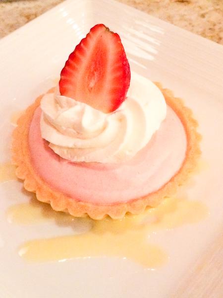 Strawberry Mousse Tart - EATS Kitchen & Bar