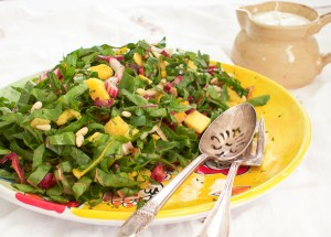 Rainbow Chard and Couscous Salad