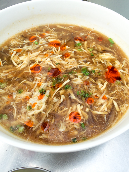 Hot & Sour Soup, Sichuan cooking class