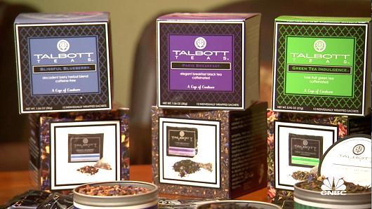 A selection of Talbott Teas