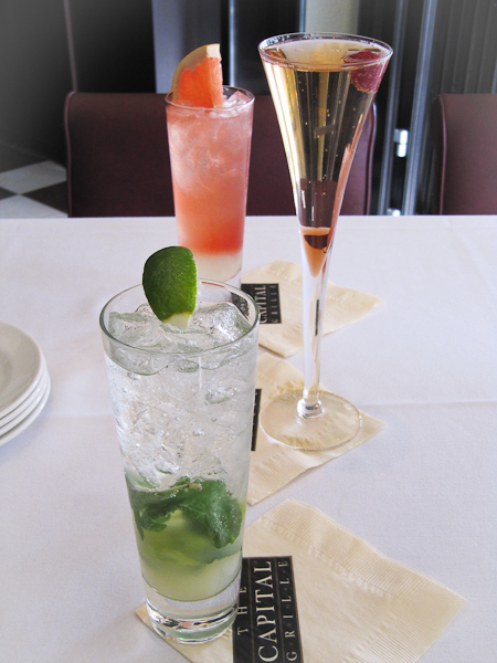 Capital Grille cocktails