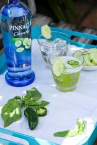Pinnacle Cucumber Basil Refresher