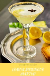 Lemon Meringue Martini