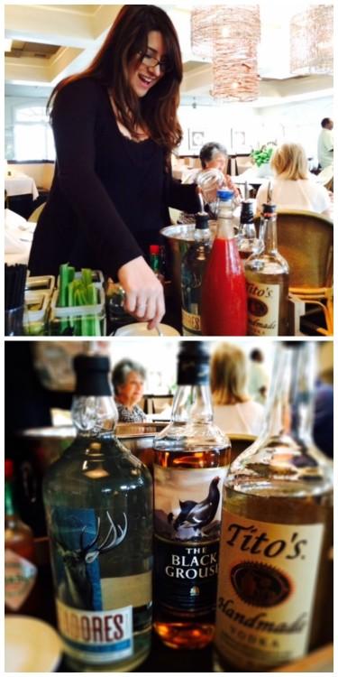 Tableside Bloody Marys,  Scott's Jazz Brunch, Scott's Restaurant & Bar