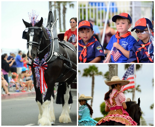 4th of July Parade, Huntington Beach, California