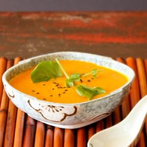 Detox Carrot Ginger Pineapple Soup