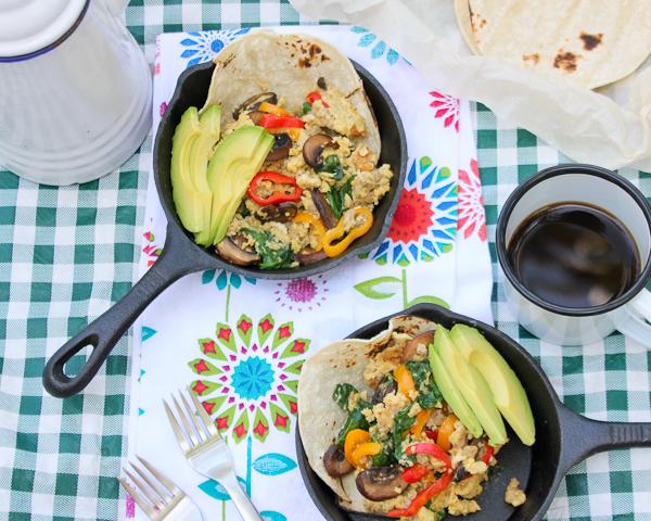 Sunday Scramble - Breakfast Tacos