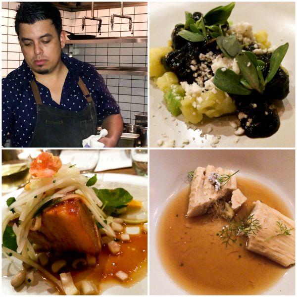 Carlos Salgado, Taco Maria  Guest Chef - Eric Salmaniego