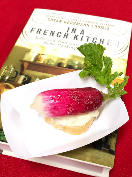 French radish, In A French Kitchen