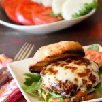 Smoked Mozzarella & Fig Bison Burger