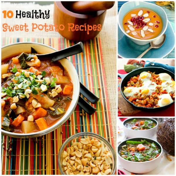 10 Healthy Sweet Potato Recipes | ShesCookin.com