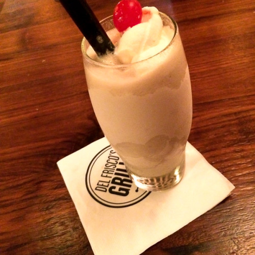 Adult Milk Shake, Del Frisco's Grille | ShesCookin.com