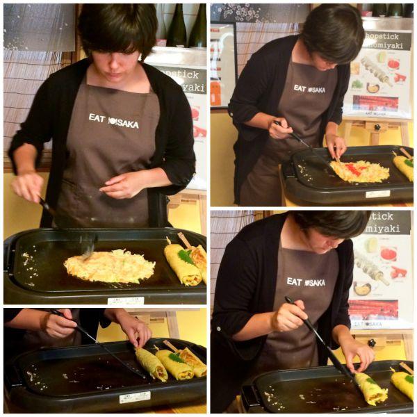 How to Make Chopstick Okonomiyaki