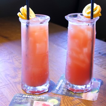 Blood Orange Sangria - California Pizza Kitchen- | ShesCookin.com
