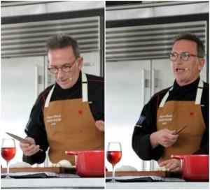 Chef Rick Moonen at #NBWFF | ShesCookin.com