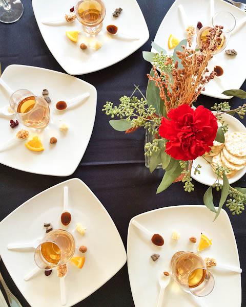 Bourbon Tasting Flavor Wheel | ShesCookin.com