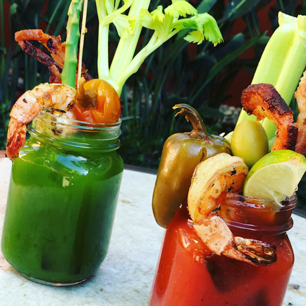 Traditional and Tomatillo Bloody Mary | EATS Kitchen + Bar