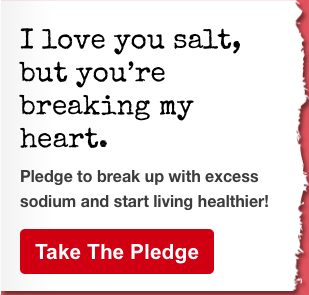 American Heart Association - Sodium Break Up