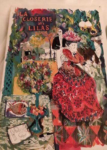 La Closerie de las Lilas | ShesCookin.com