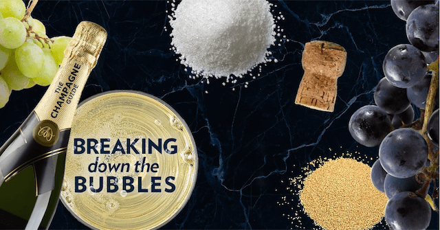 Breaking Down the Bubbles |ShesCookin.com
