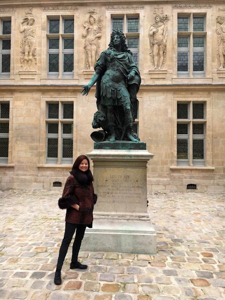 Louis XIV at Musee Carnavalet | ShesCookin.com
