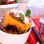 Picadillo Stuffed Peppers | ShesCookin.com