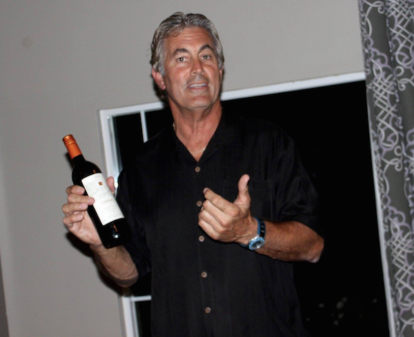 Vince Ferragamo at Back Bay Bistro