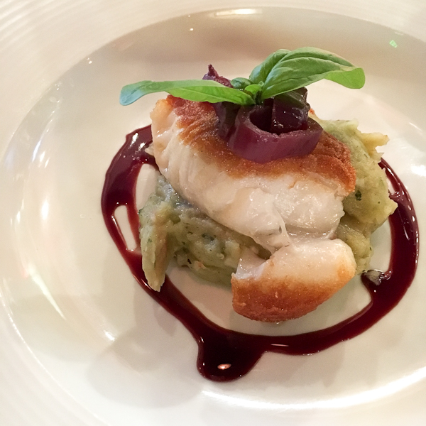 MSC Chilean Sea Bass and Basil Mashed Potatoes | ShesCookin.com