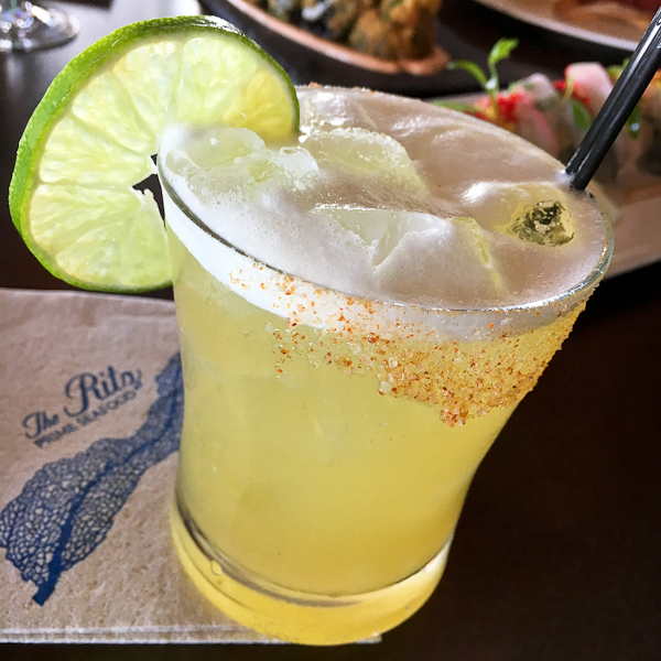 The Wedge cocktail - Ritz Prime Seafood | ShesCookin.com