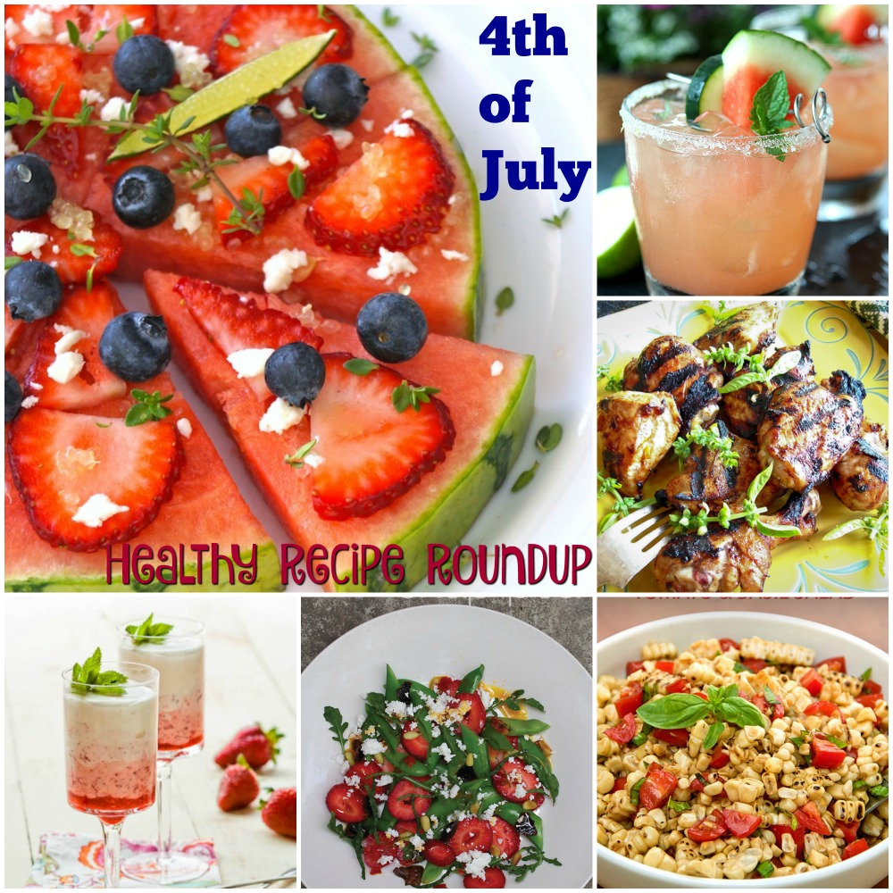 4th of July Healthy Recipe Roundup | ShesCookin.com