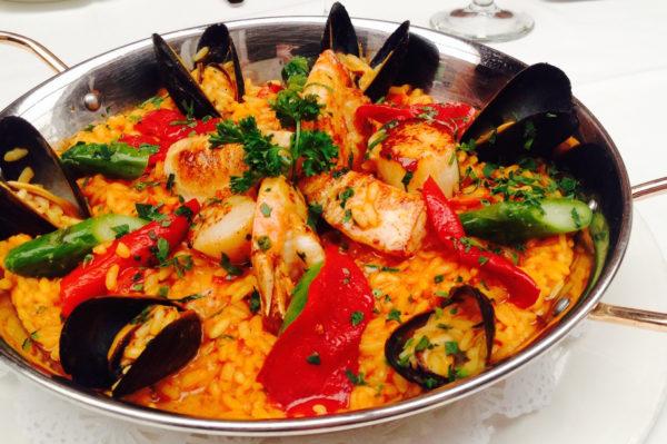 Paella Night at Bistango | ShesCookin.com