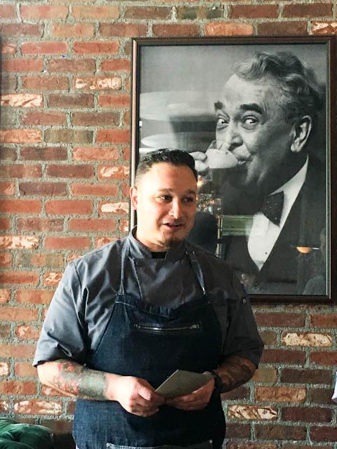 Chef Roman Jimenez - Macallans Public House | ShesCookin.com