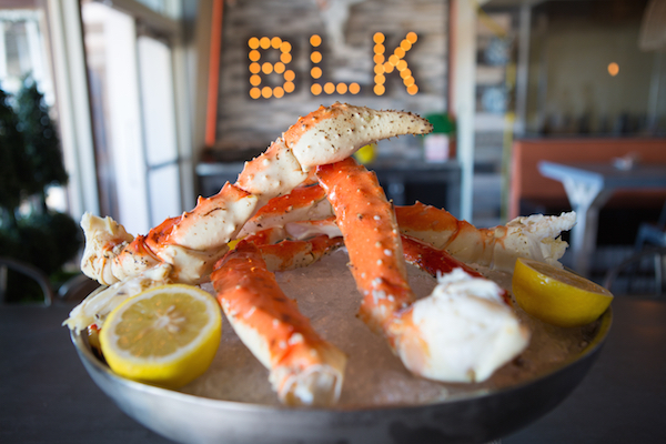 BLK Crab Legs - Huntington Beach ocean view dining