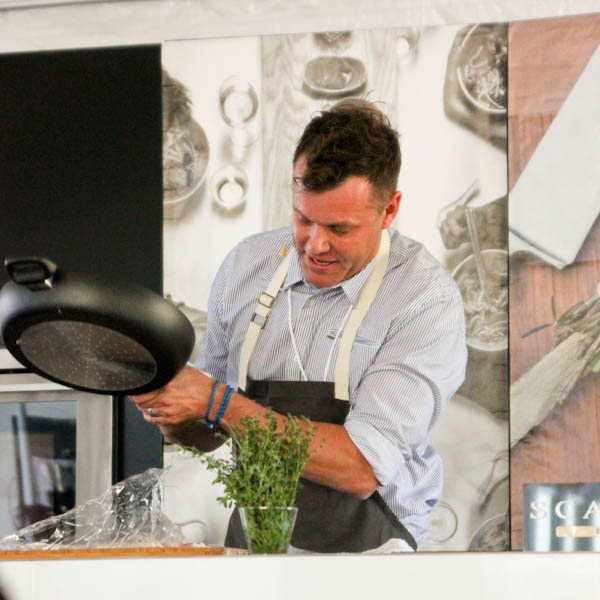 Chef Brian Malarkey, 2016 Newport Beach Wine & Food Festival | ShesCookin.com